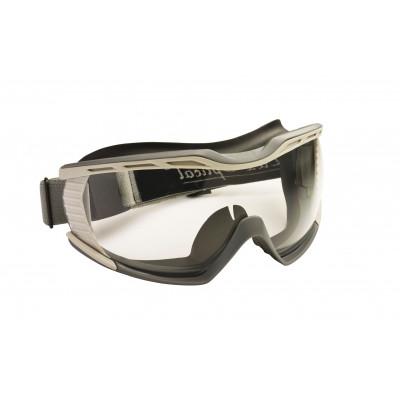 Lunette masque Biolux incolore anti-buée - monture polypropylène - joint facial souple - LUX OPTICAL | 60680