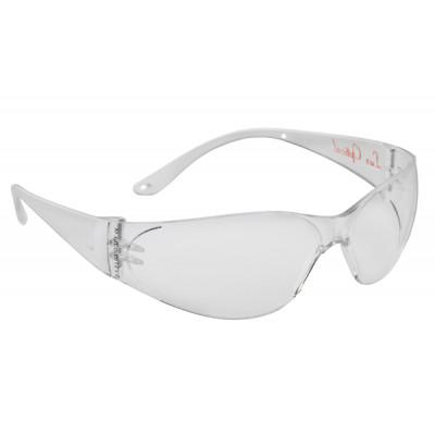Lunettes de sécurité, Monture POKELUX transparente - Oculaire incolore antibuée-LUX OPTICAL