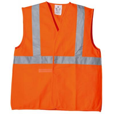 Gilet hi-viz orange bande baudrier, cl. 2.2, 70236 Coverguard
