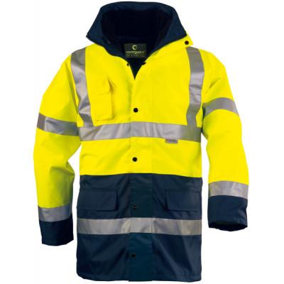 Parka polyester 4 en 1 hi-viz jaune/marine, 3M, 70552 Coverguard