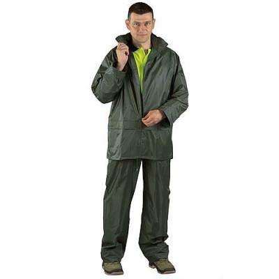 Ensemble de pluie souple vert, 50502 Coverguard