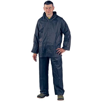 Ensemble de pluie souple bleu, 50522 Coverguard