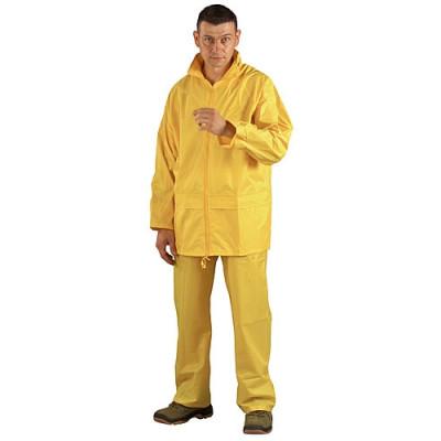 Ensemble de pluie souple jaune, 50512 Coverguard