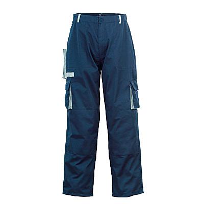 Pantalon de travail NAVY, marine et gris, coton-poly, 245g/m2 COVERGUARD