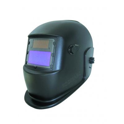 Masque de soudage meulage 2 en 1 électro optique noir réglable teinte variable de 9-13 Sodise | 05754