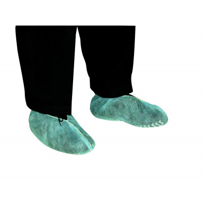 COUVRE CHAUSSURE ANTIDERAPANT BLEU (x100) - TIDY | 45245