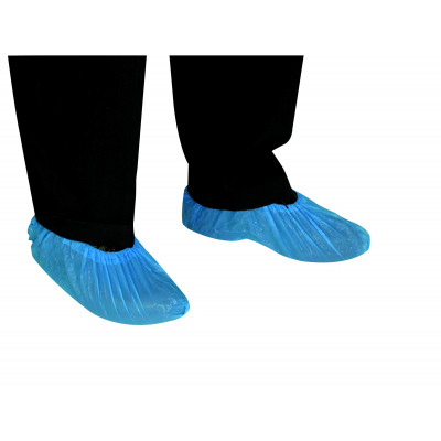 COUVRE CHAUSSURE VISITEUR POLYETHYL (x100) - TIDY | 45240