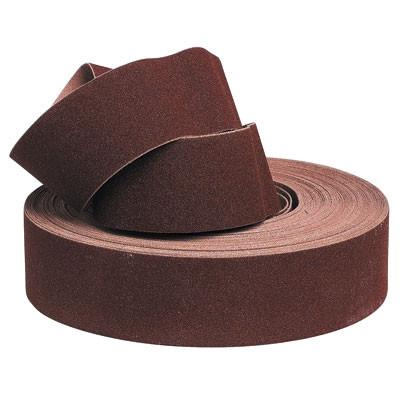Rouleau d'atelier corindon/toile souple L.25xl.38mm grain 120