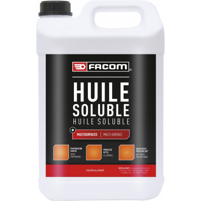 Huile soluble Jerrican 5 l 136205 | FACOM BY ORAPI