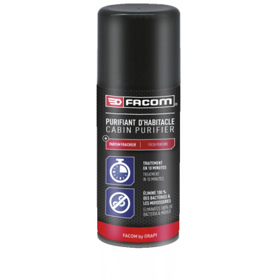 Purifiant d'habitacle Aérosol 210 / 125 ml 121072 | FACOM BY ORAPI