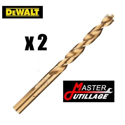 Forets Métal HSS- G (2 pièces) EXTREME Ø4mm - L:75mm DEWALT - DT5042