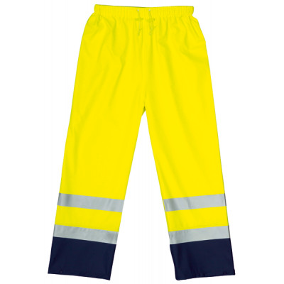 Pantalon de pluie PU jaune/marine 3M 70320