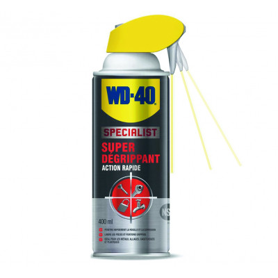 Aerosol wd40 specialist super dégrippant 400ml - Sodise | 10032