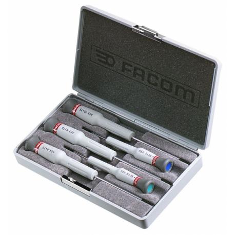 AEX.J1 Facom Coffret de 5 tournevis Micro-Tech® Torx®