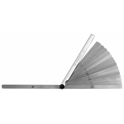 804.L Facom Jauges d'épaisseurs métriques longues à bout rond