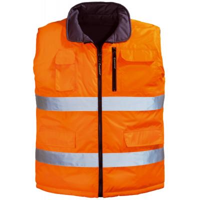 Gilet réversible HI WAY - orange / gris - Coverguard | 7HWGO