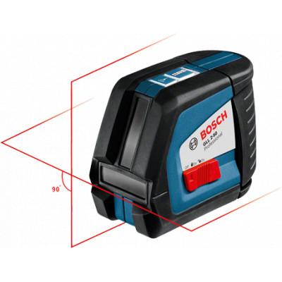 0601063105 Laser lignes Bosch GLL 2-50 Professional outils Bosch Bleu