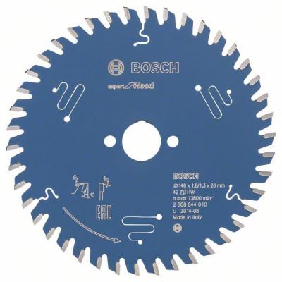 2608644010 Lame de scie circulaire Expert for Wood Accessoire Bosch pro outils