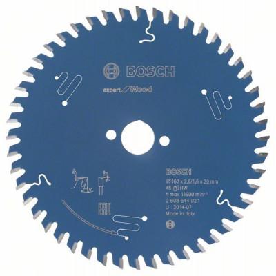 2608644021 Lame de scie circulaire Expert for Wood Accessoire Bosch pro outils