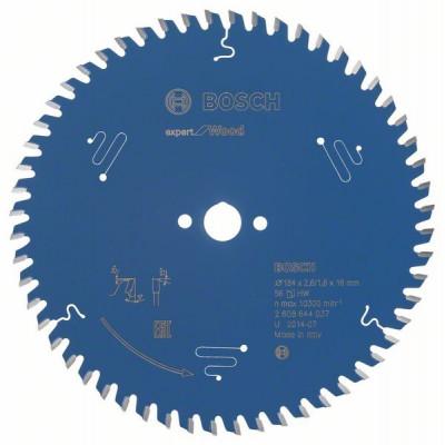 2608644037 Lame de scie circulaire Expert for Wood Accessoire Bosch pro outils