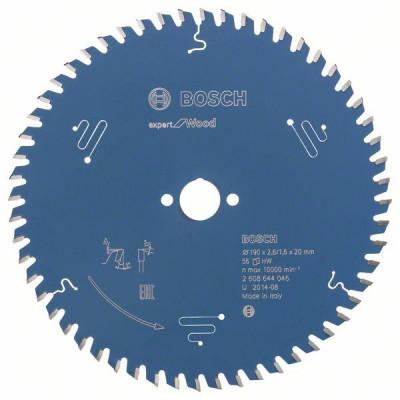 2608644046 Lame de scie circulaire Expert for Wood Accessoire Bosch pro outils