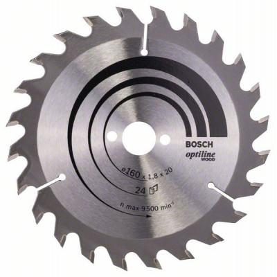 2608641171 Lame de scie circulaire Optiline Wood Accessoire Bosch pro outils