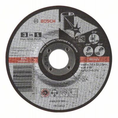 2608602389 Disque à tronçonner 3 en 1 Accessoire Bosch pro outils