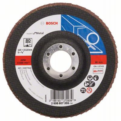 2608607355 Plateau à lamelles X551, Expert for Metal Accessoire Bosch pro outils