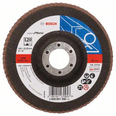 2608607356 Plateau à lamelles X551, Expert for Metal Accessoire Bosch pro outils