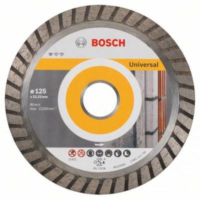 2608602394 Disque à tronçonner diamanté Standard for Universal Turbo Accessoire Bosch pro outils