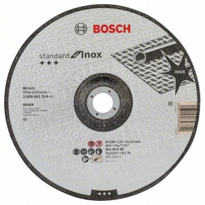 2608601514 Disque à tronçonner à moyeu déporté Standard for Inox Accessoire Bosch pro outils