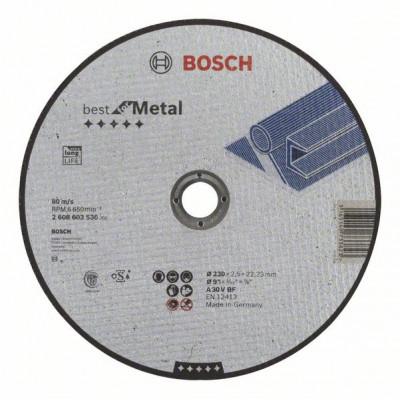 2608603530 Disque à tronçonner à moyeu plat Best for Metal Accessoire Bosch pro outils