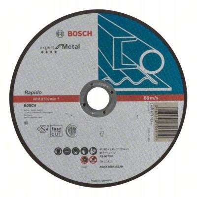 2608603399 Disque à tronçonner à moyeu plat Expert for Metal - Rapido Accessoire Bosch pro outils