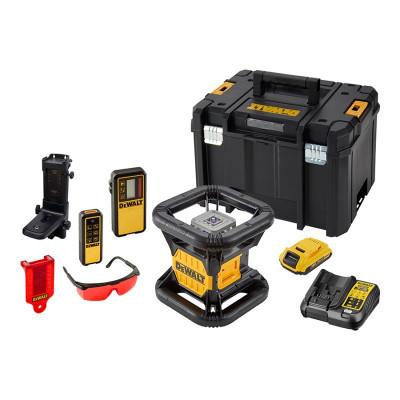 Niveau laser rotatif double pente extérieur 18 Volts DEWALT | DCE079D1R