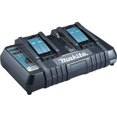 Makita 196933-6 Chargeur rapide 2 batteries Makstar Li-Ion 14,4 à 18 V - DC18RD