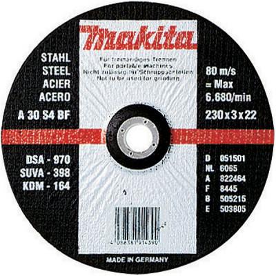 Makita A-85313 Disques à tronçonner métal pour meuleuses