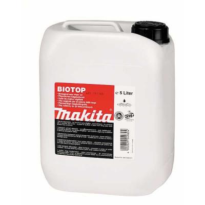 Makita 980008611 Huiles pour chaînes tronçonneuses Biotop, bio dégradable 5l