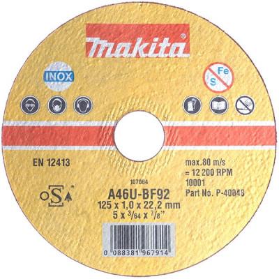 Makita B-12273 Disques à tronçonner métal et inox pour meuleuses