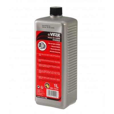 Huile de coupe minerale - bidon 1 l Virax | 110101