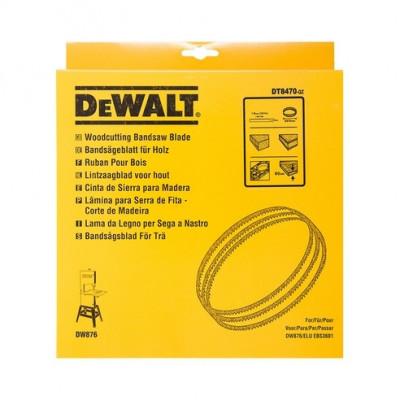 Lame de scie à ruban 16 mm pour DW738 et DW739 Dewalt   DT8482
