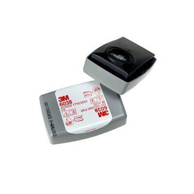 Filtre antipoussière dans un boitier 3M™ 6038 P3 et odeurs gênante   7000059883
