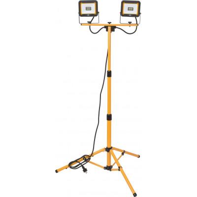 2 Projecteurs LED JARO avec pied télescopique 3740 lumens Brennenstuhl | 1171250434
