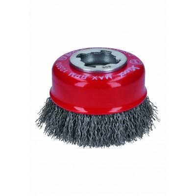 Brosses en acier X-LOCK ø70 acier 0,3  Bosch Professional   2608620725