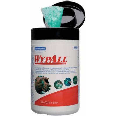 Boîte de 50 lingettes en non-tissé imprégnées WypAll | 7772050