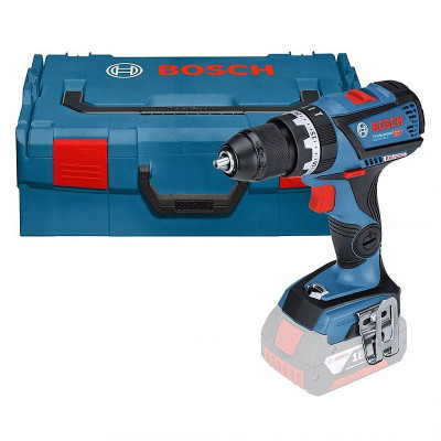 Perceuse visseuse 18 Volts lithium GSR 18 V-EC solo coffret L-BOXX   Bosch 06019D6103