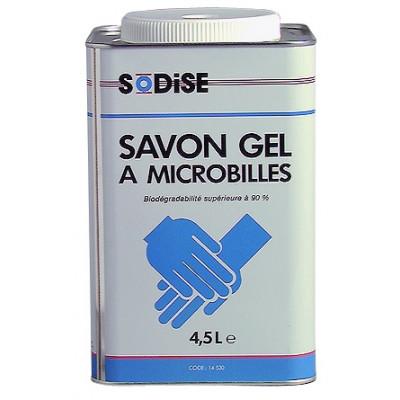 Savon gel microbilles 4.5l- mécanicien - Sodise | 14530