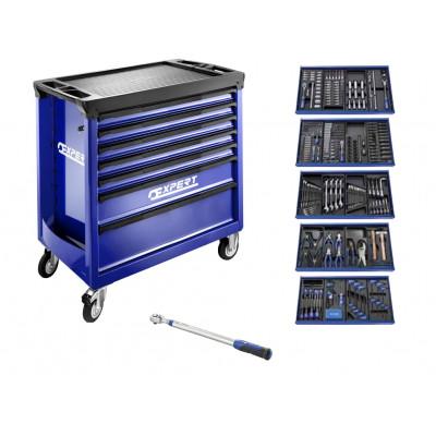 Servante 7 tiroirs 396 outils + Clé dynamométrique Expert by Facom   E220329