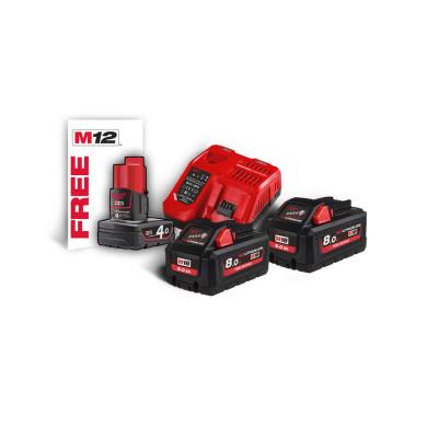 Pack NRG 18 volts 8ah high ouput M18 HNRG-802 Milwaukee   4933471073